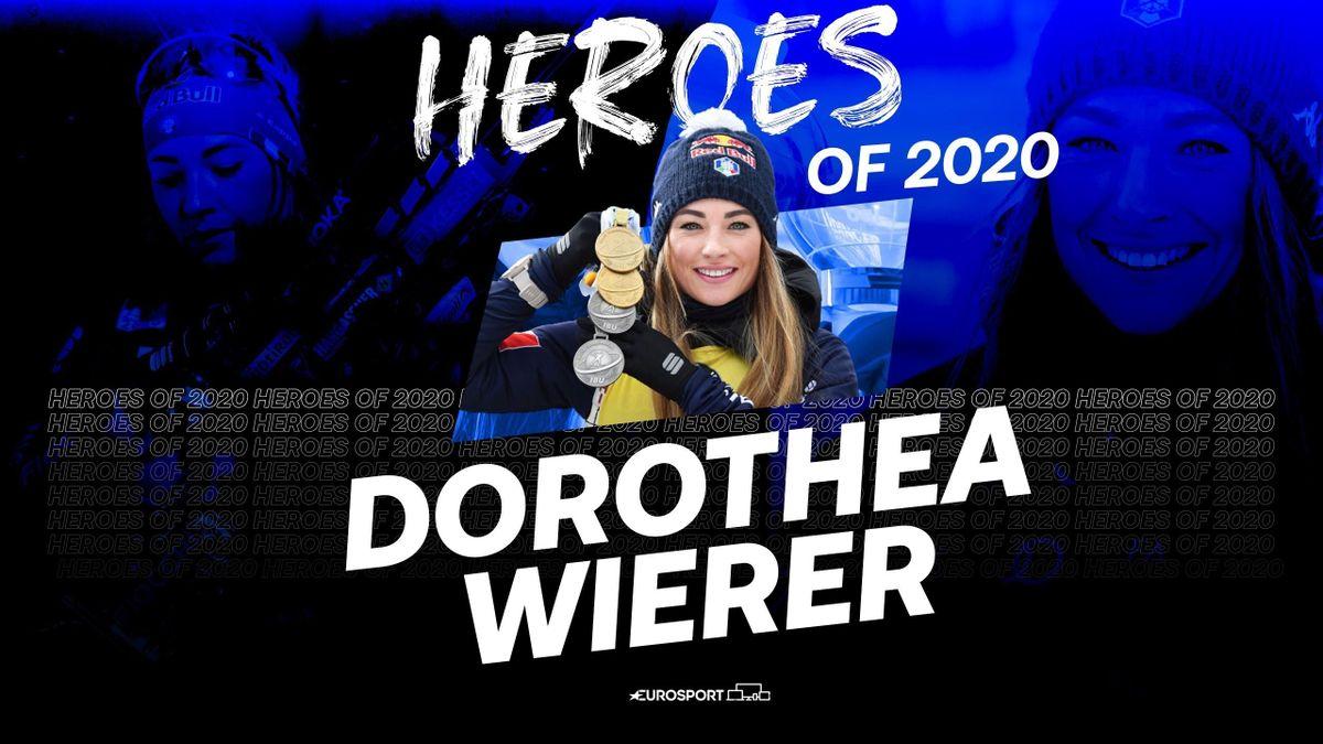 Dorothea Wierer atleta dell'anno 2020