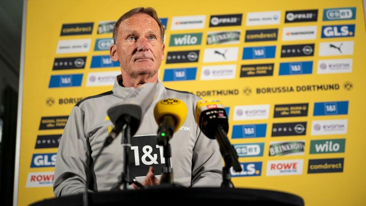 Borussia Dortmund und Hans-Joachim Watzke leiden unter der Corona-Krise