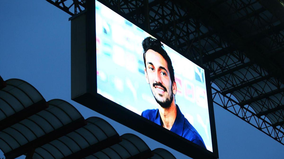 Il ricordo di Davide Astori durante Milan-Sassuolo