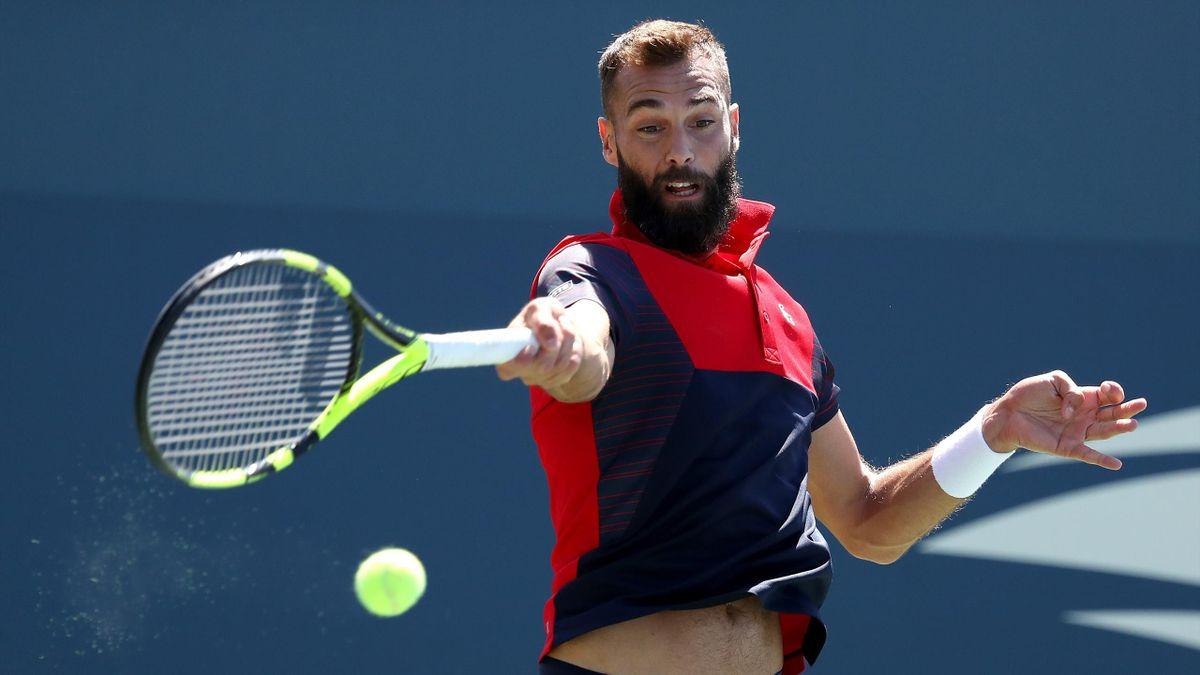 Benoit Paire à l'US Open 2019