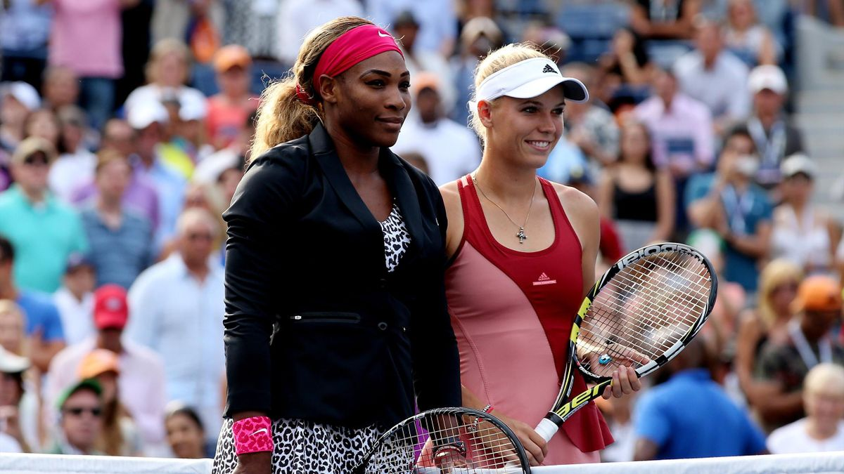 Serena Williams și Caroline Wozniacki, la US Open 2014