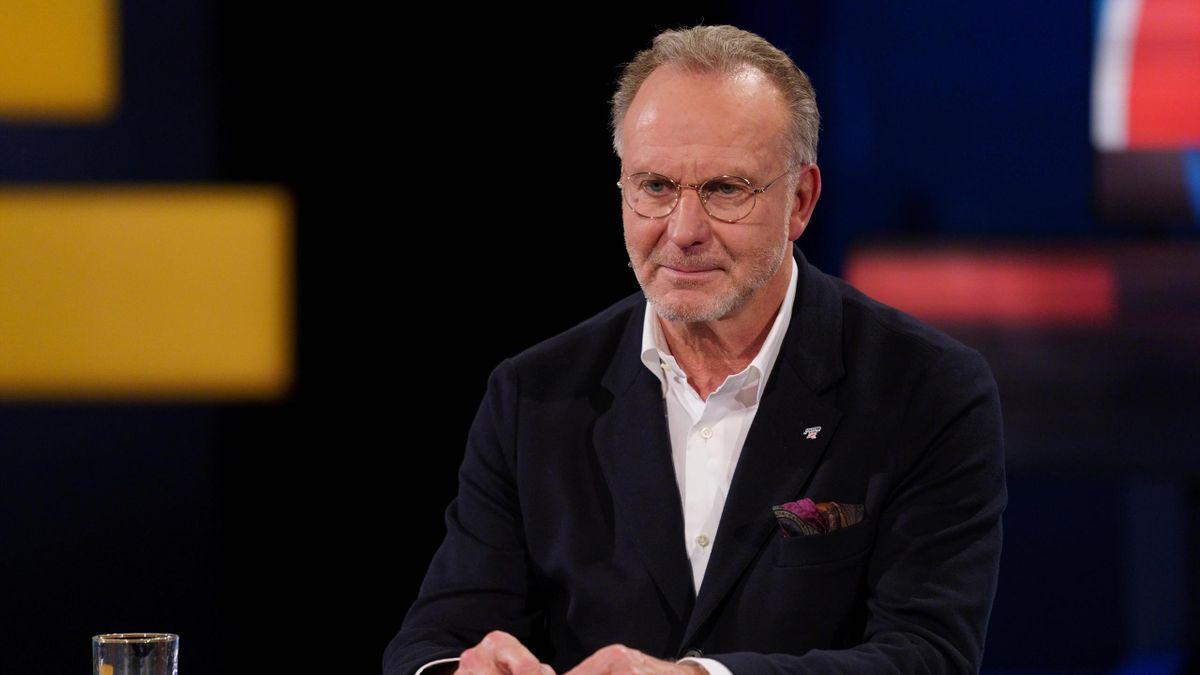 Karl-Heinz Rummenigge im Aktuellen Sportstudio