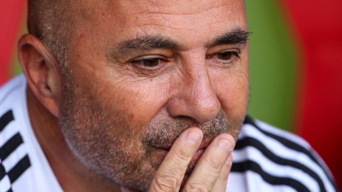 Jorge Sampaoli en 2018