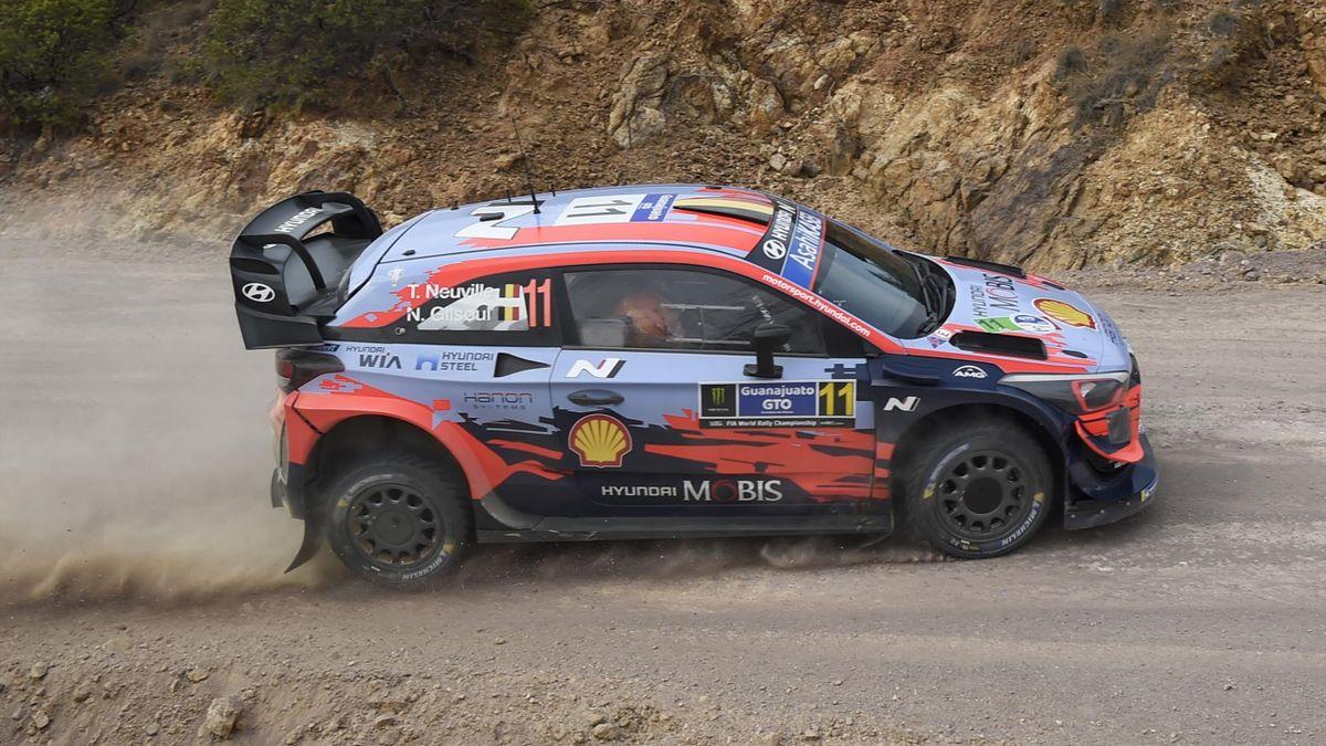 Thierry Neuville (Hyundai MST) au Rallye du Mexique 2020