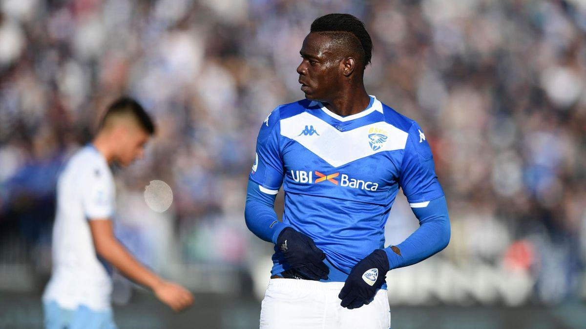 Balotelli - Brescia-Lazio - Serie A 2019/2020 - Getty Images