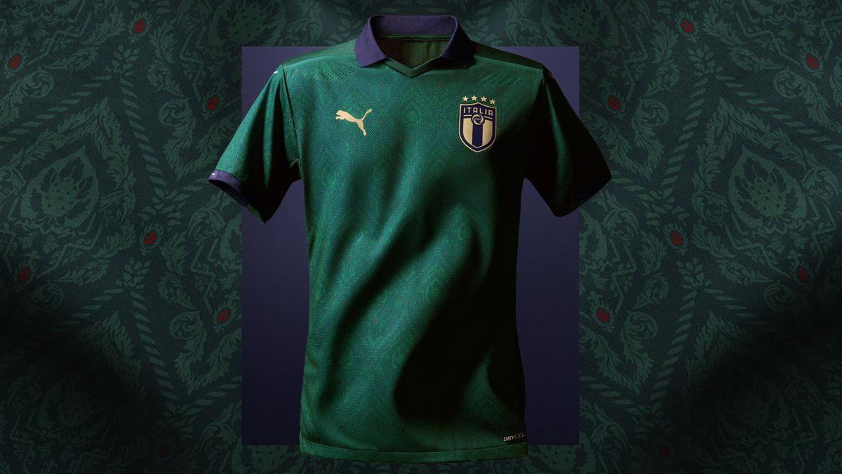Maillot Italie vert