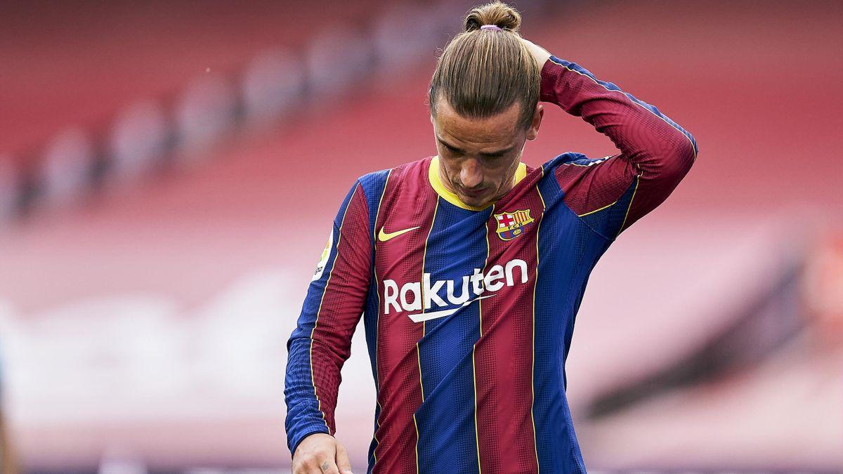 Antoine Griezmann, l'attaquant du FC Barcelone.