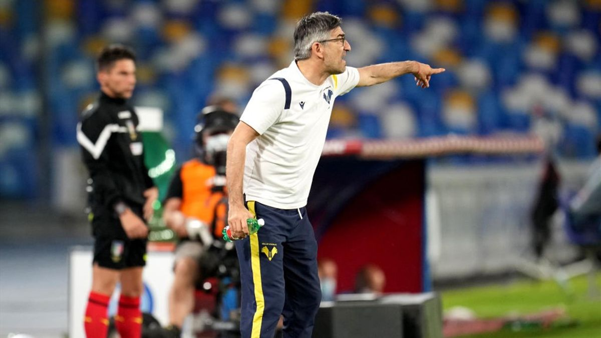 Ivan Juric - Napoli-Verona Serie A 2020-21
