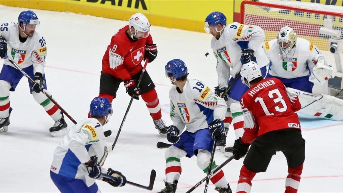 Italia-Svizzera- Mondiale di Hockey - Foto di Carola Semino
