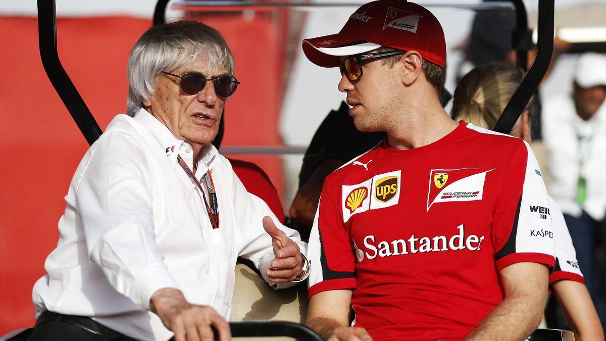 Bernie Ecclestone și Sebastian Vettel sunt extrem de apropiați