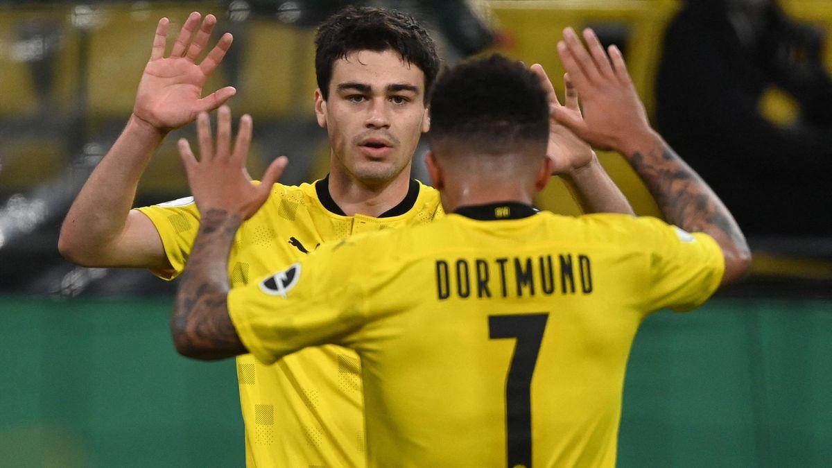 Giovanni Reyna and Jadon Sancho (Borussia Dortmund)