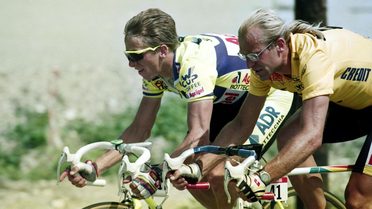 Greg LeMond vs Laurent Fignon - Tour de France 1989