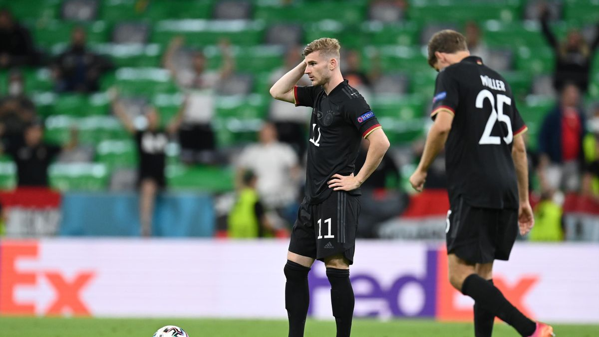Germany toiled against Hungary