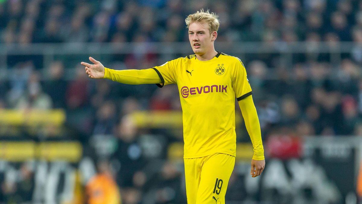 Julian Brandt spielt seine erste Saison für Borussia Dortmund