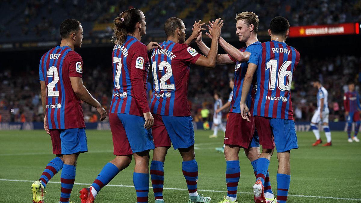 Der FC Barcelona gewann beim Liga-Auftakt locker