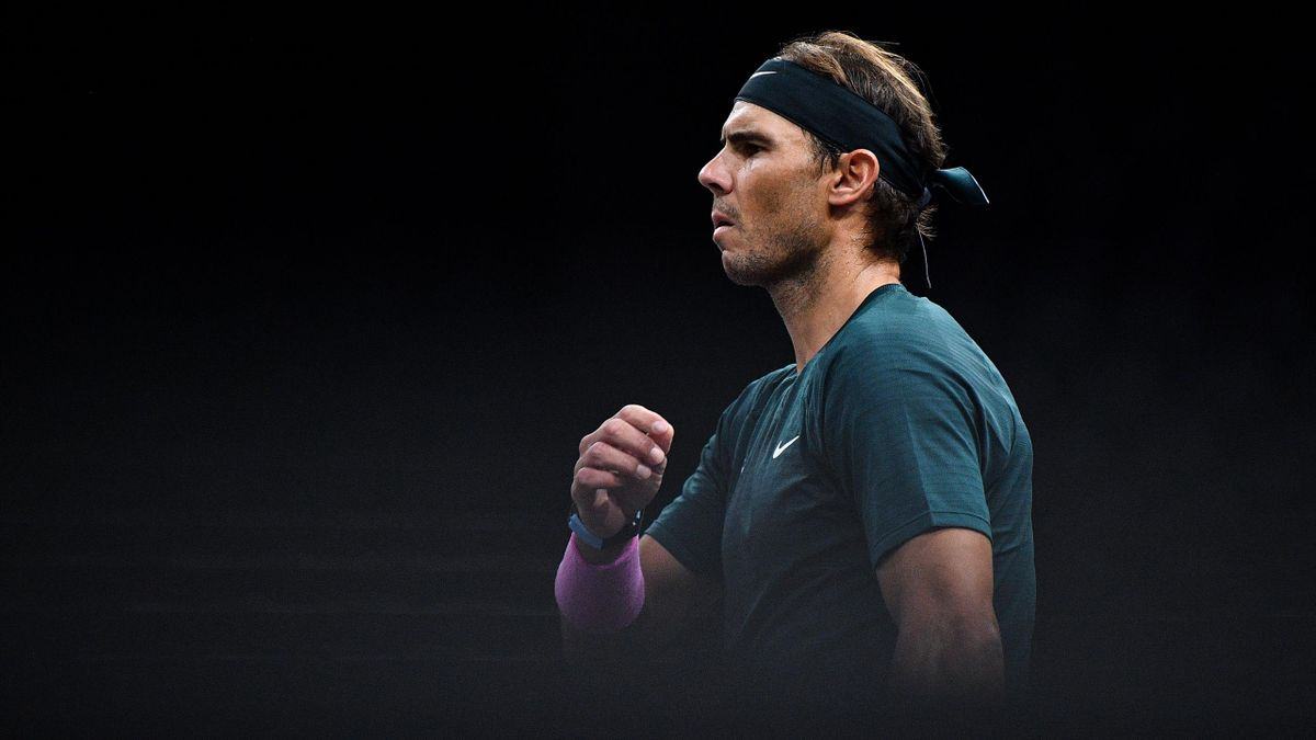 Rafael Nadal, la Masters-ul de la Paris