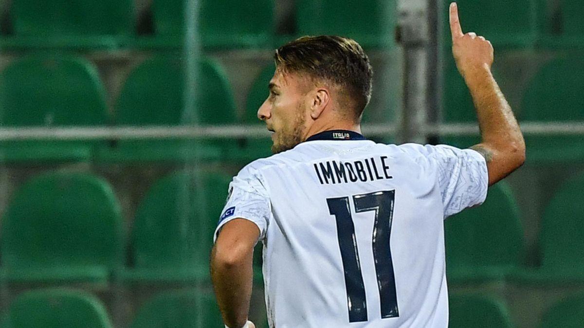 Immobile - Italia-Armenia - Euro 2020 qualifier - Getty Images