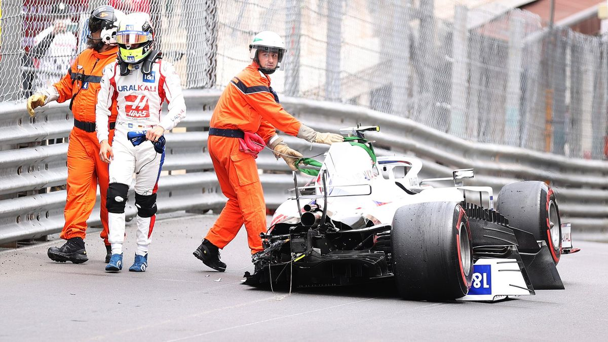 Mick Schumacher (Haas) au Grand Prix de Monaco 2021