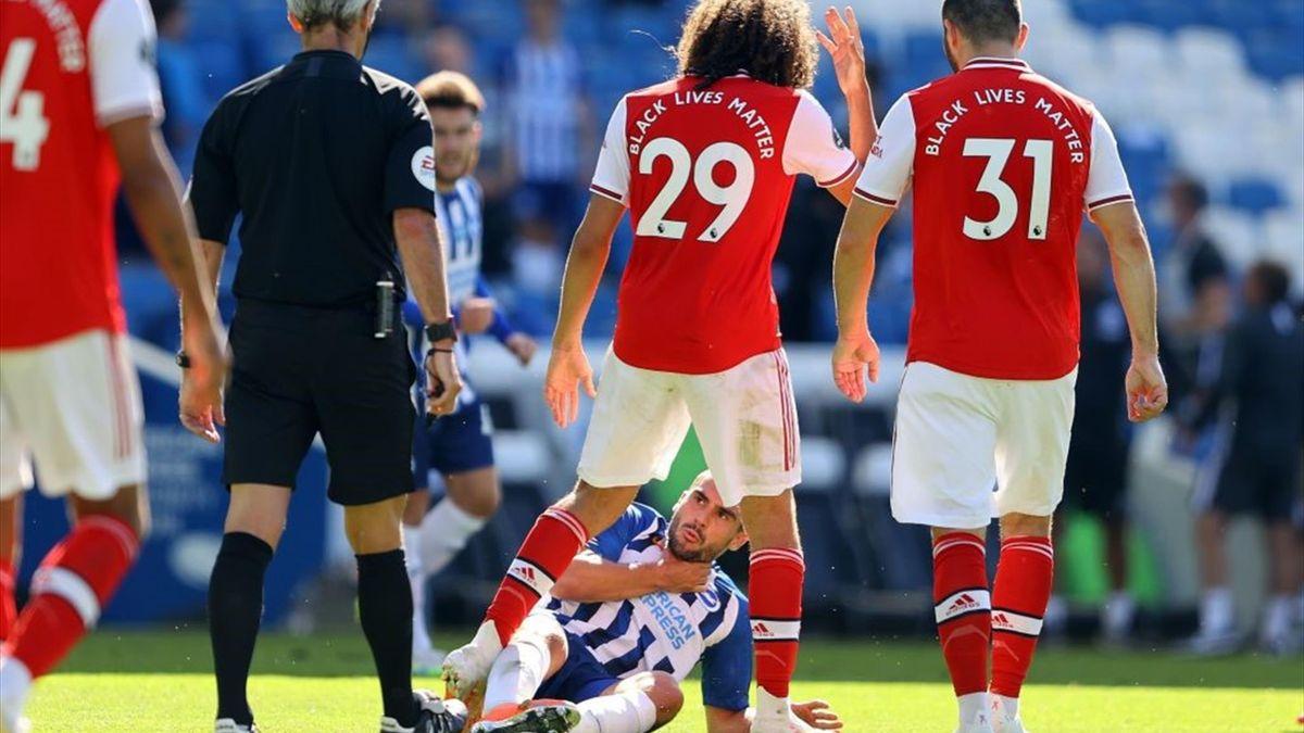 Premier League   Brighton - Arsenal 2-1