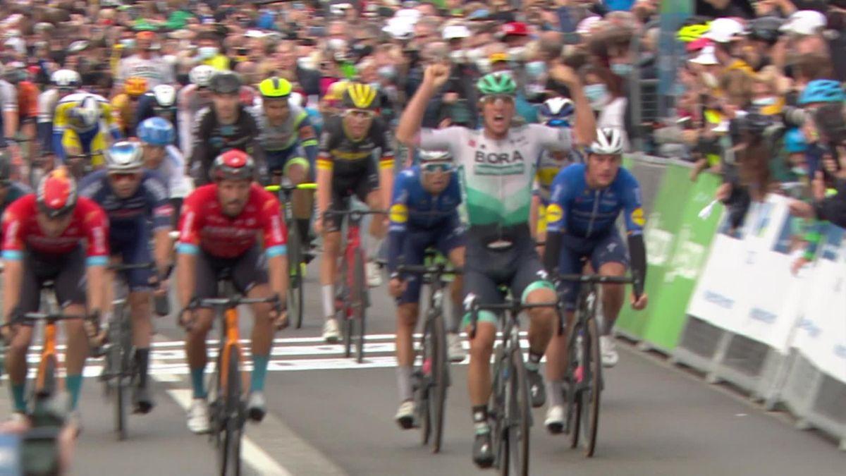 Deutschland Tour   Ackermann sprint in chaotische finale naar dagwinst