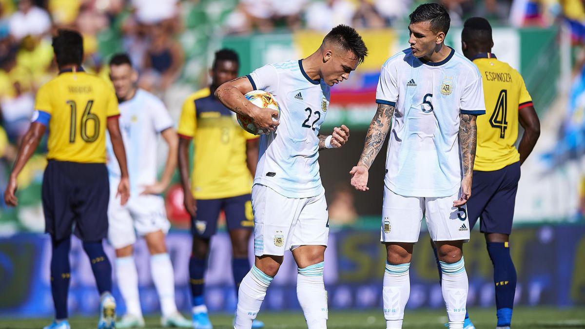 Lautaro Martinez - Ecuador-Argentina - International Friendly 2019 - Getty Images