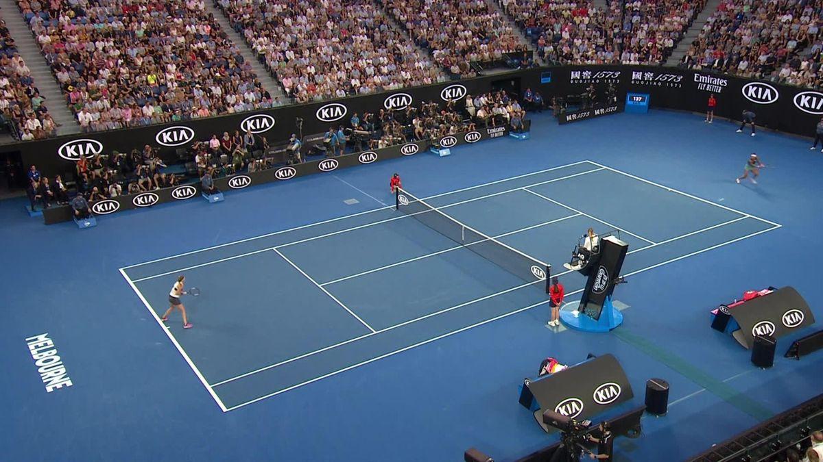 Osaka - Kvitova, 2019 Avustralya Açık
