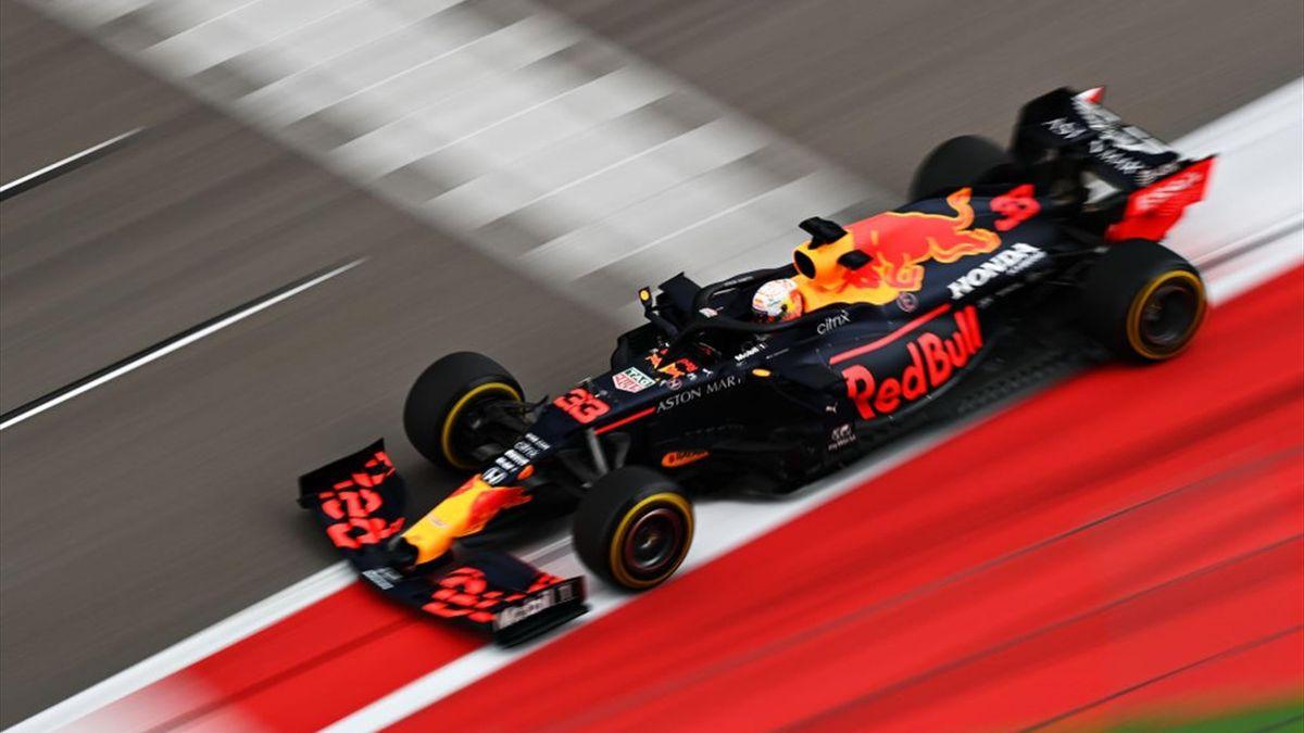 Max Verstappen (Red Bull) au Grand Prix de Russie 2020