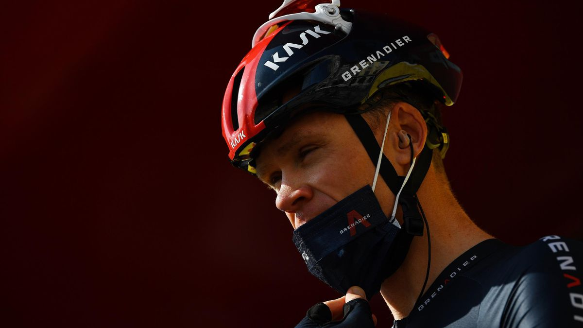 Christopher Froome of The United Kingdom and Team INEOS - Grenadiers