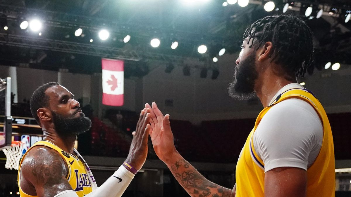 LeBron James e Anthony Davis (Los Angeles Lakers)
