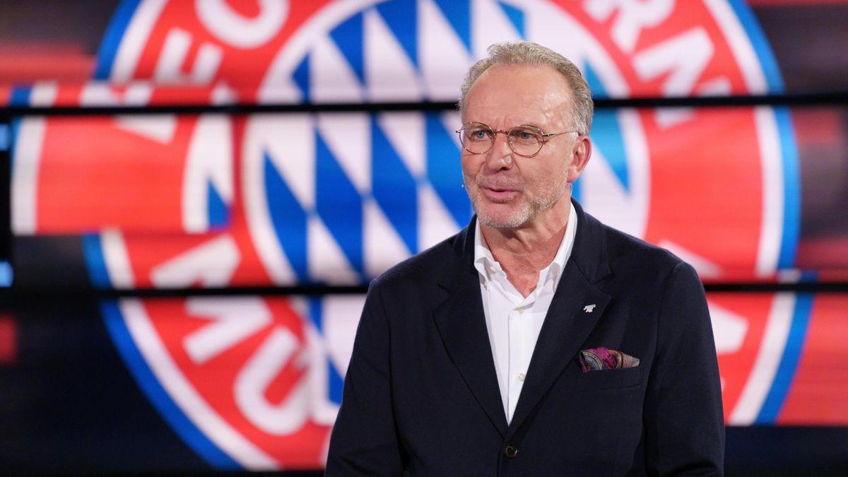 Der Vorstandsboss des FC Bayern: Karl-Heinz Rummenigge