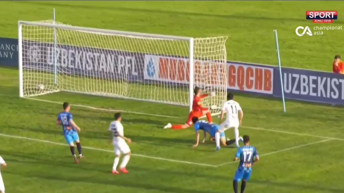 Матч в Узбекистане
