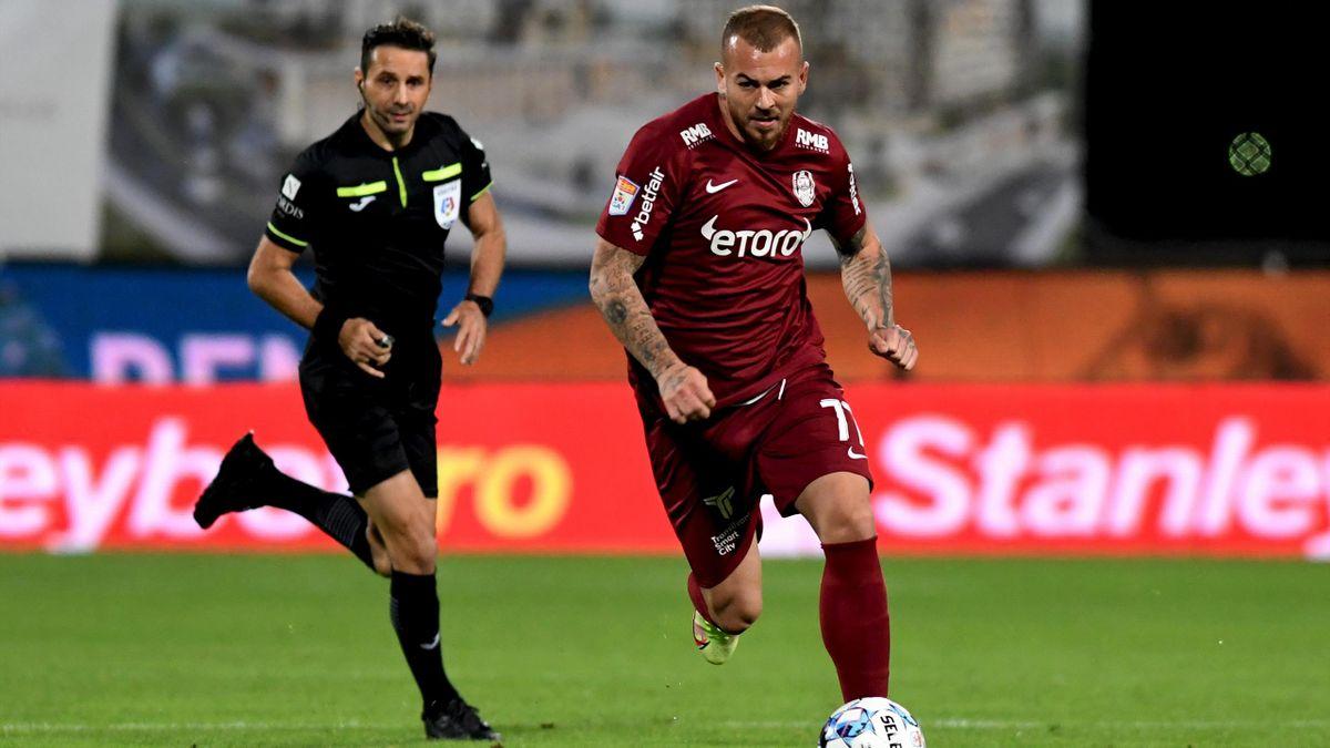Alibec a reușit gol și pasă decisivă în CFR - FCSB 4-0