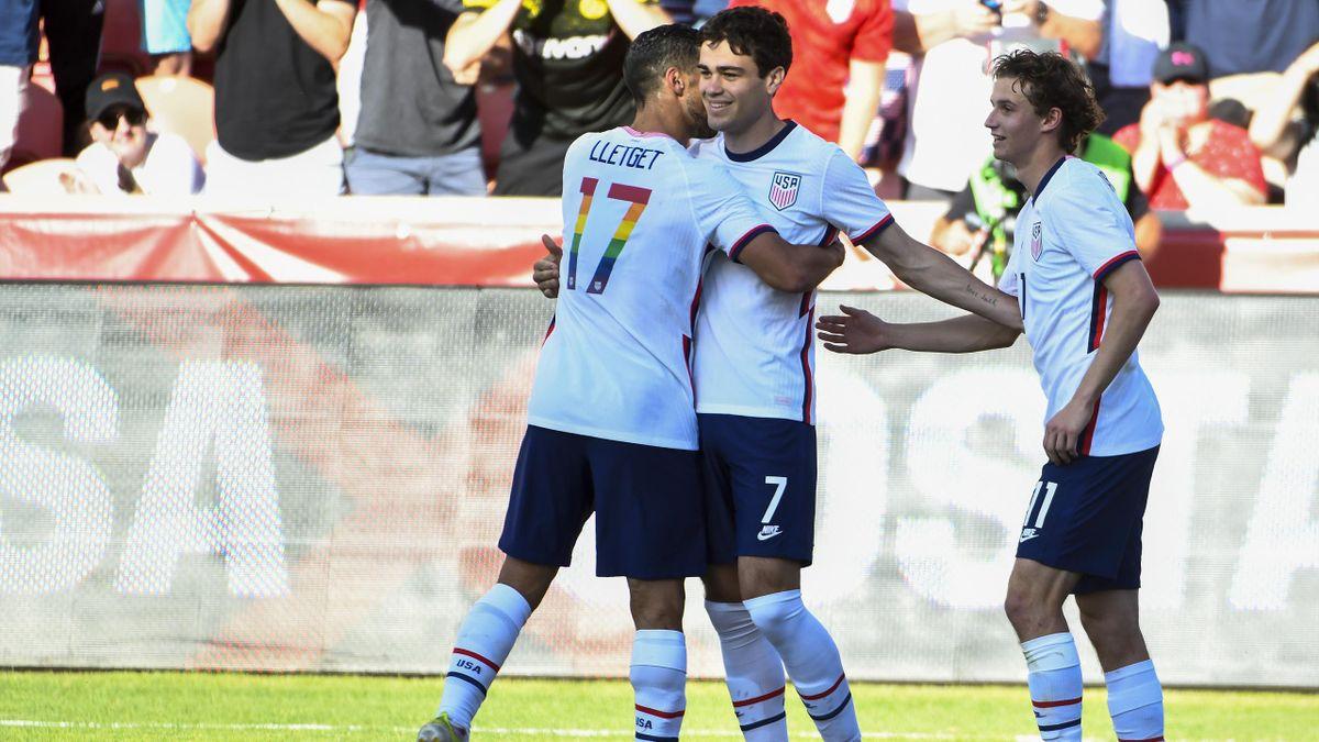 Giovanni Reyna verwandelte gegen Costa Rica einen Elfmeter nach Einwechslung