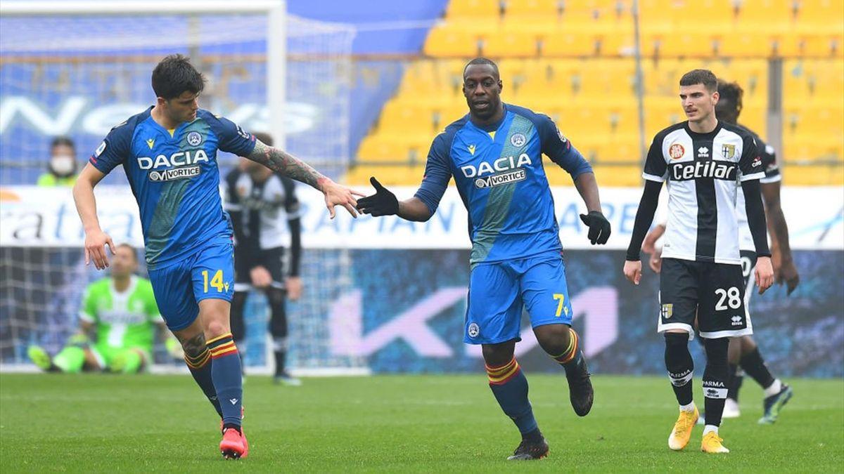 Stefano Okaka Chuka - Parma-Udinese Serie A 2020-21