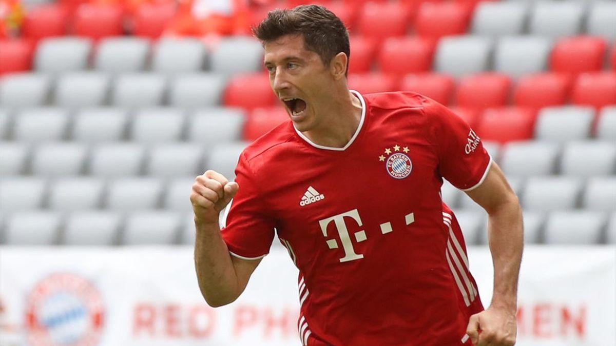 Robert Lewandowski, atacantul lui Bayern Munchen