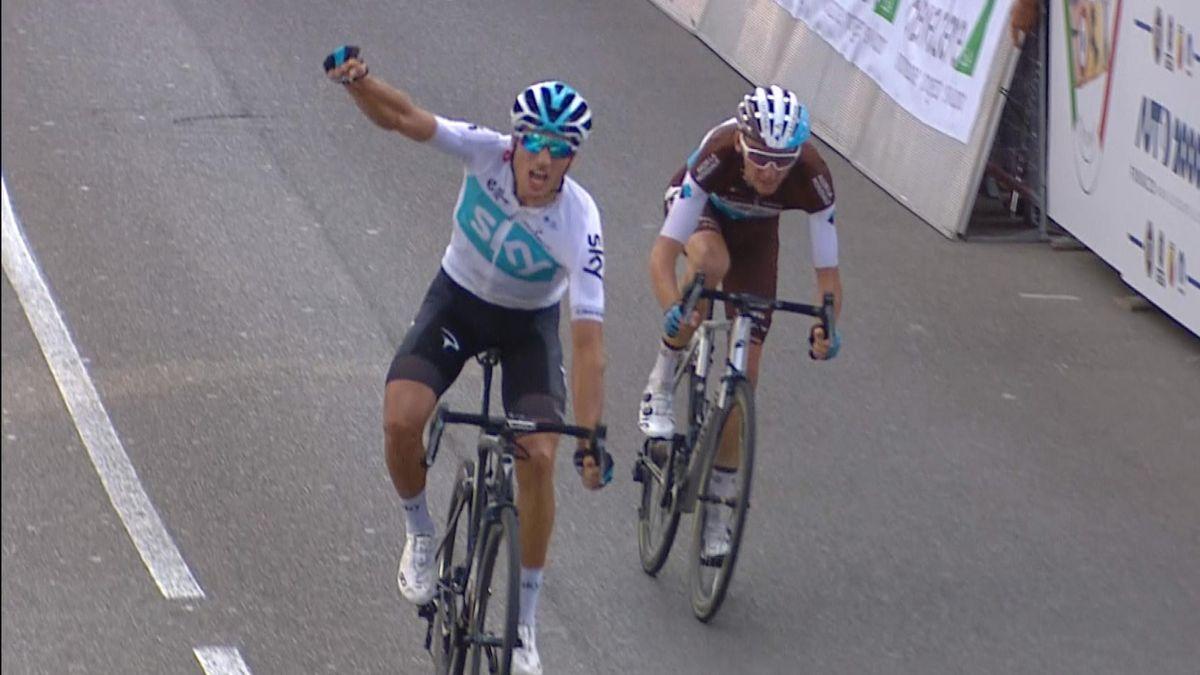 Giro della Toscana : last kilometer