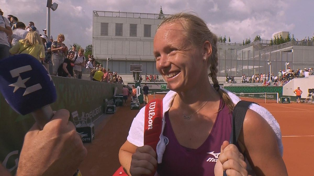 French Open - interview Kiki Bertens