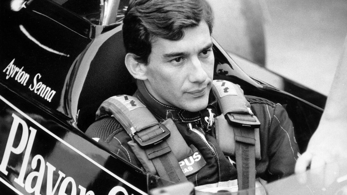Ayrton Senna in Estoril