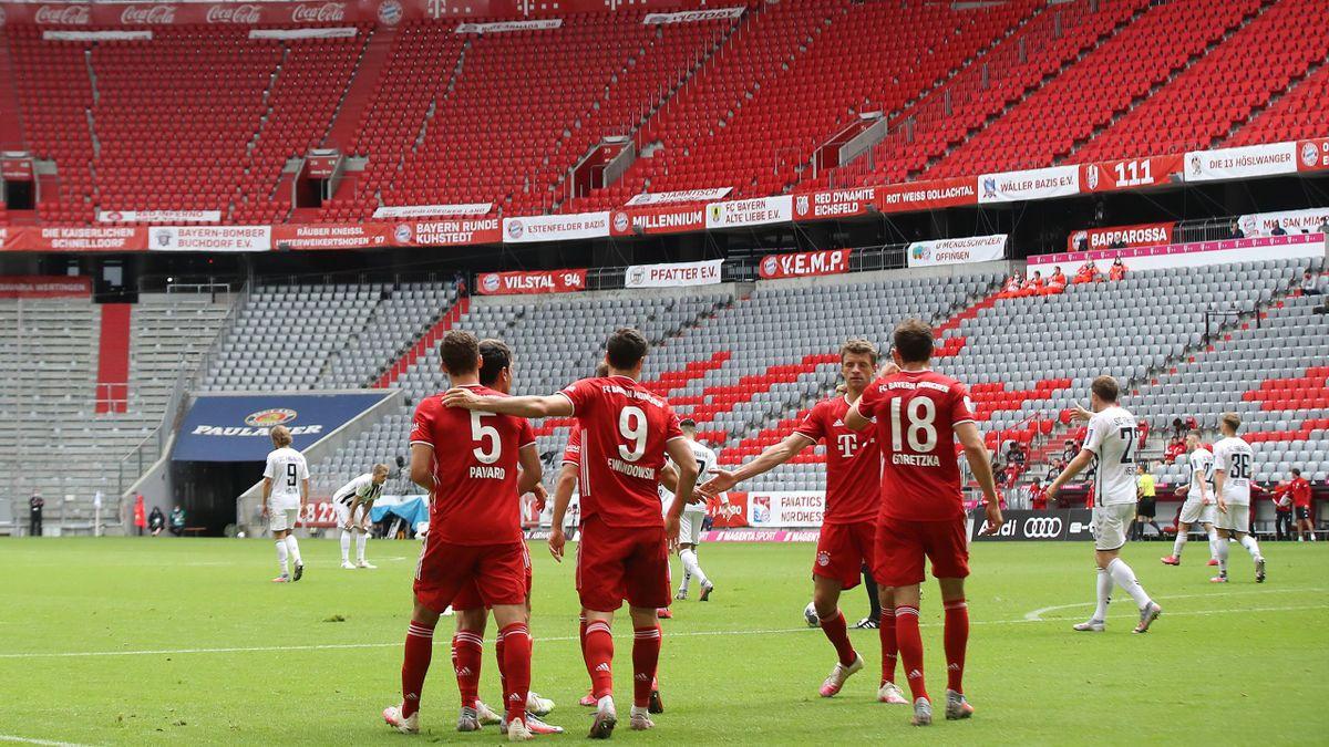 Allianz Arena à huis clos