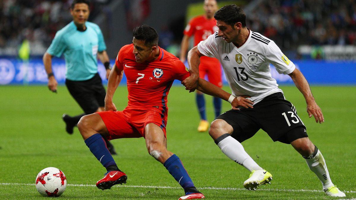 Stind trifft im Spiel gegen Chile