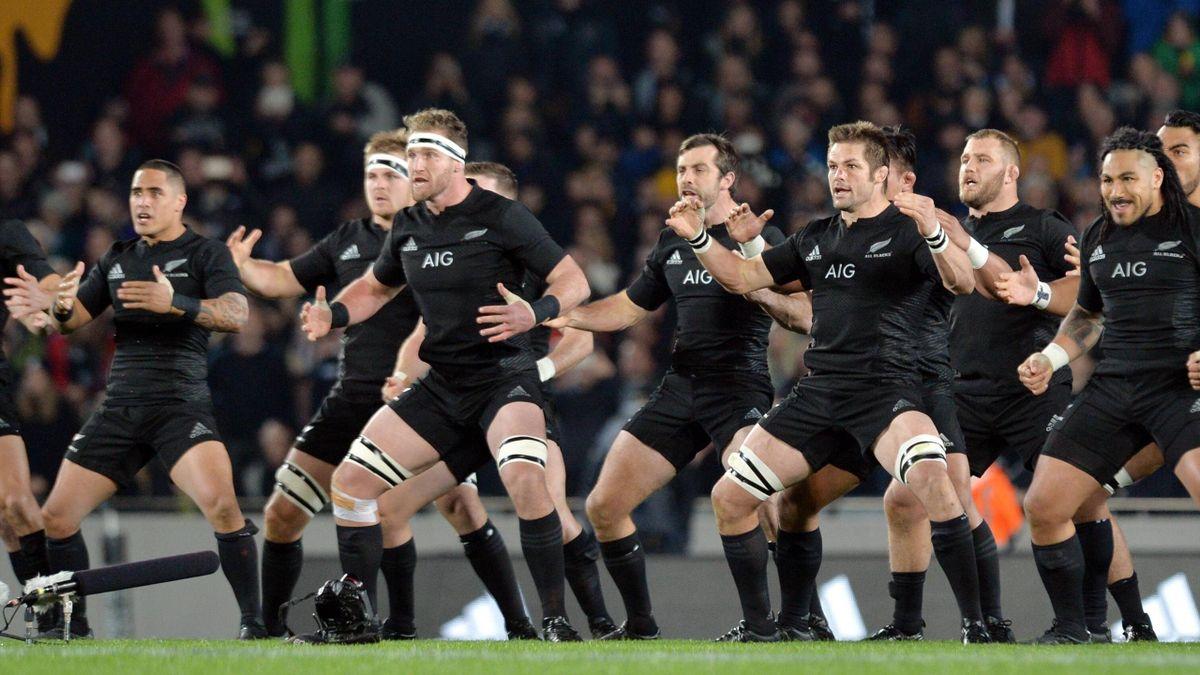 """Die """"All Blacks"""" sind zum zweiten Mal in Folge Rugby-Weltmeister"""