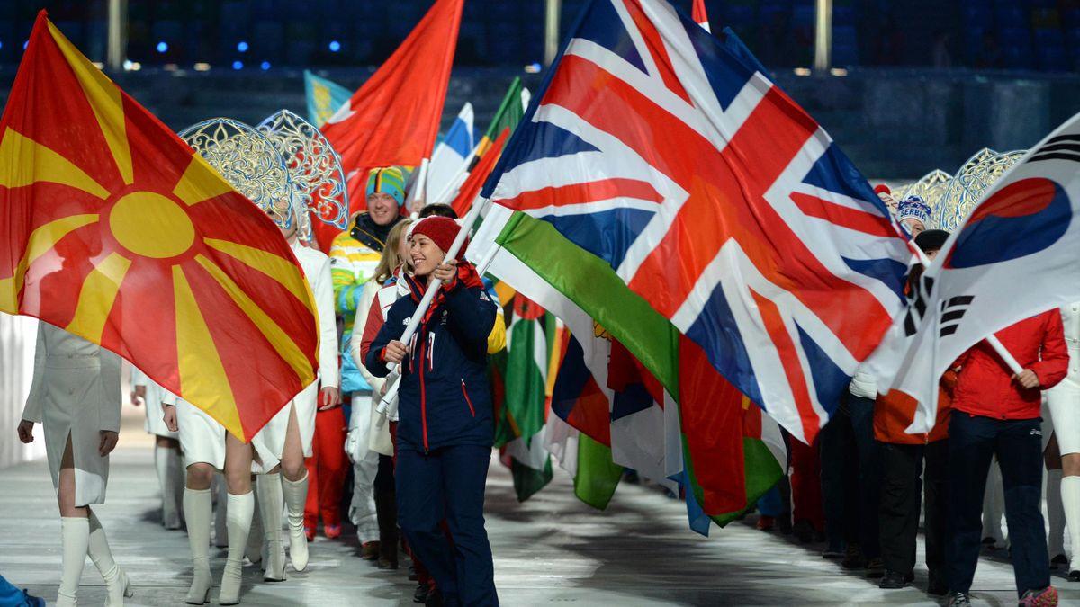 Großbritannien mit Doppelspitze bei Eröffnungsfeier