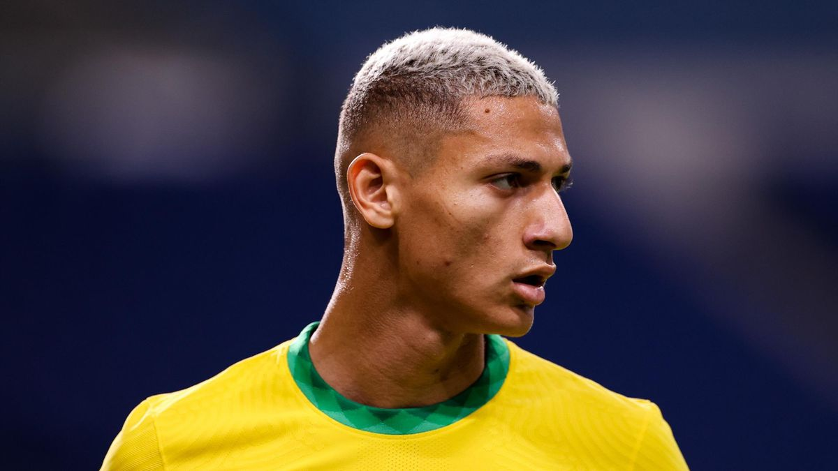 Richarlison, Brazil and Egypt during the Tokyo 2020 Olympic Games