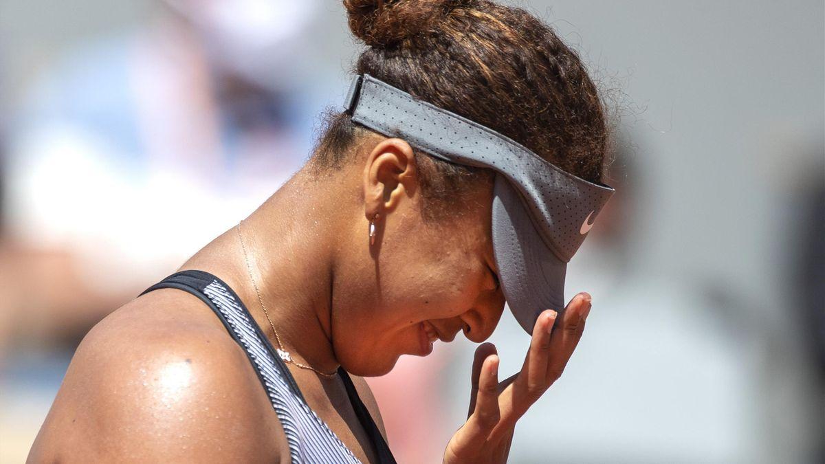 Naomi Osaka at the 2021 French Open