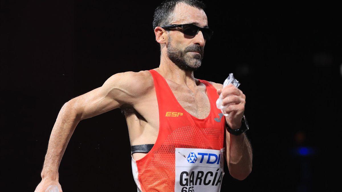 Jesús Ángel García stellt den Olympia-Teilnahme-Rekord unter den Leichtathleten ein