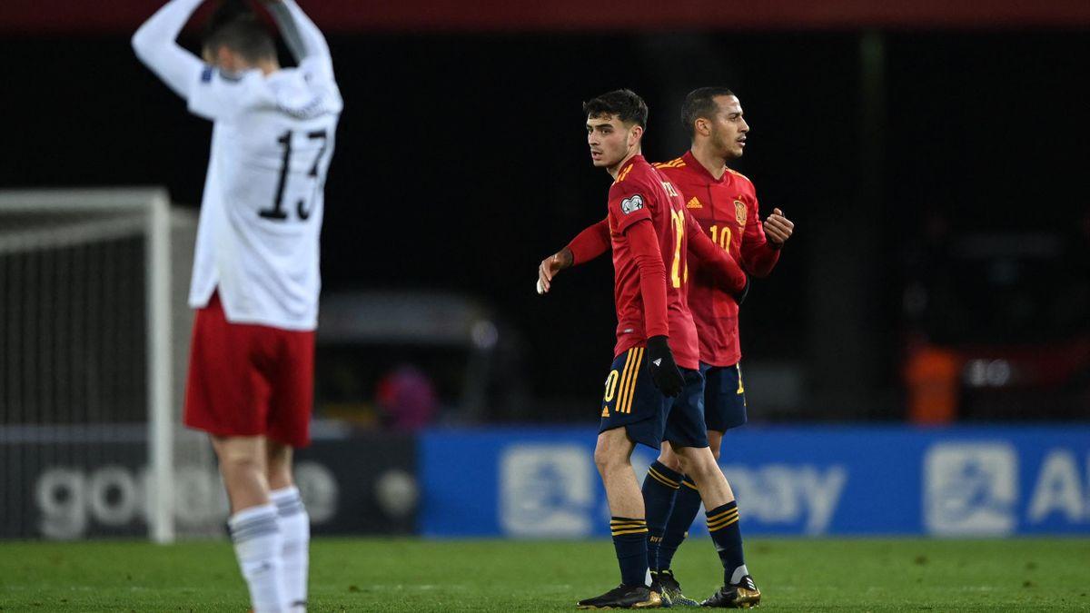 Pedri a spanyol felnőtt válogatottban