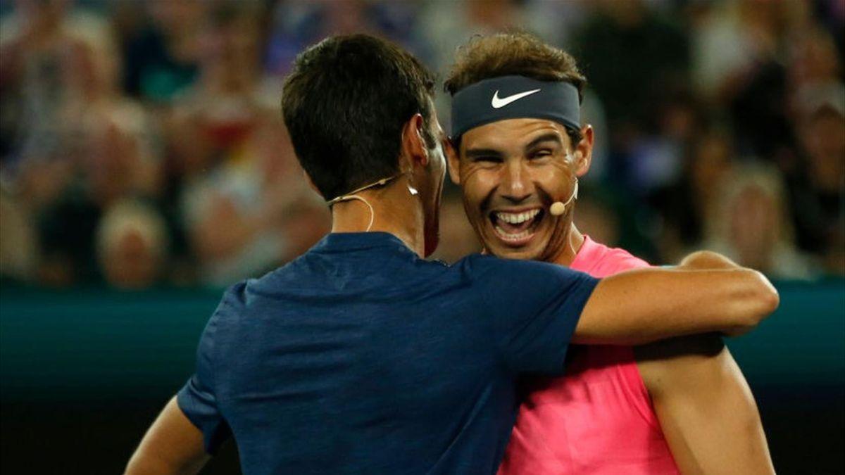 Novak Djokovic and Rafael Nadal, Australian Open: Rally for Relief