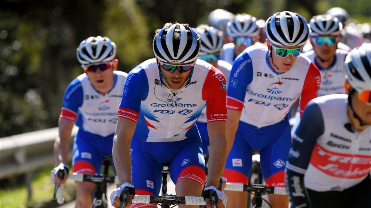 Thibaut Pinot (Team Groupama - FDJ) lors du du Tour Var et des Alpes maritimes 2021
