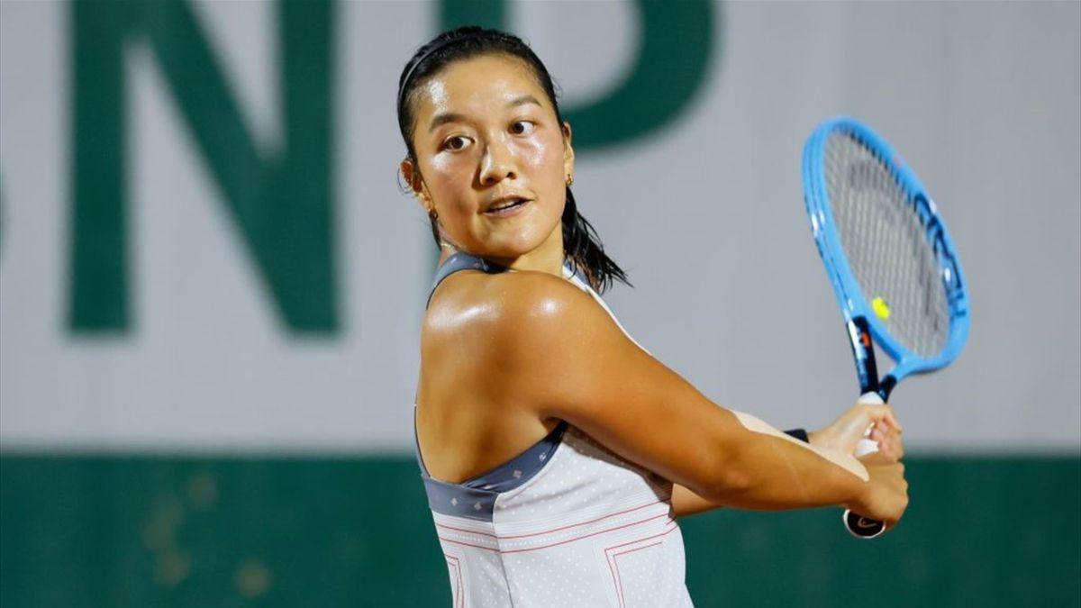 Harmony Tan à Roland Garros en 2020