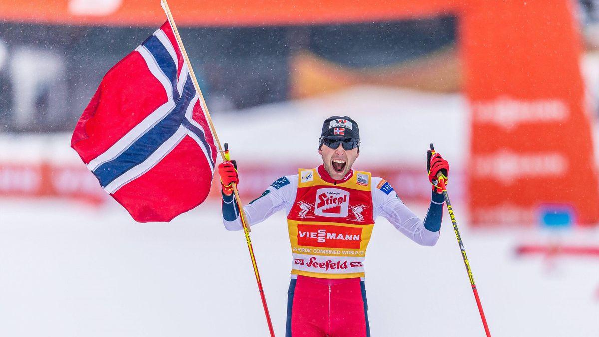 Jarl Magnus Riiber ist Weltcup-Sieger